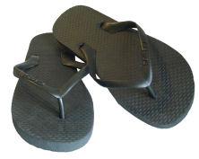 Doublez Black coloured thongs (12K)